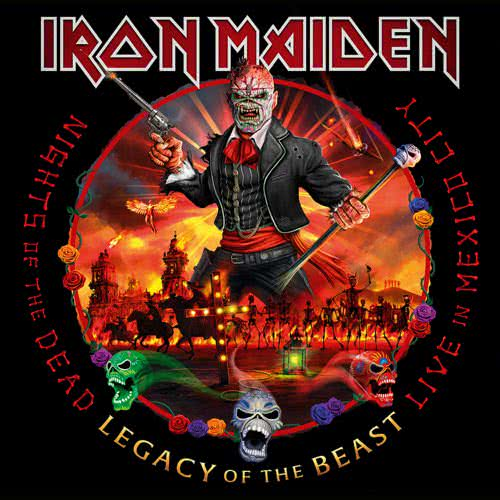 Iron Maiden - Nights of the Dead, Legacy of the Beast: Live in Mexico City (2020)